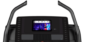 Commercial X11i Treadmills console