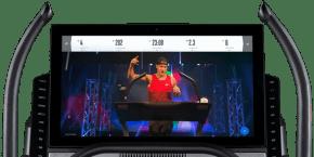 Commercial X32i Treadmills console