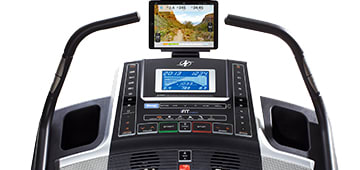 X7i console with feature