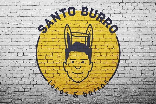 Santo Burro - Diseño de Logotipo