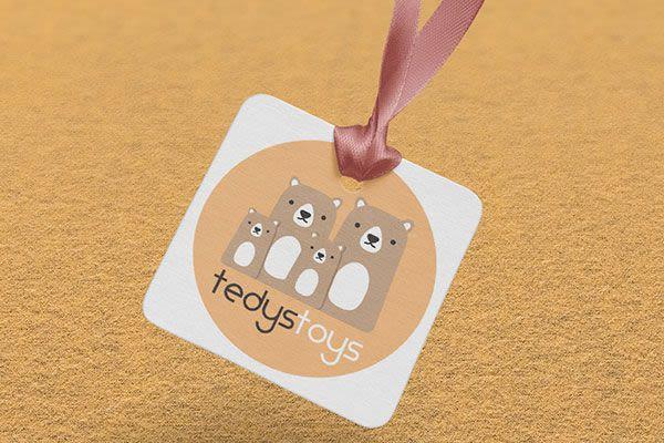 Tedys Toys - Diseño de Imagen Corporativa
