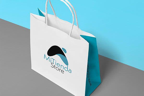 MiTienda Store - Identidad Corporativa y Prototipo de Sitio Web