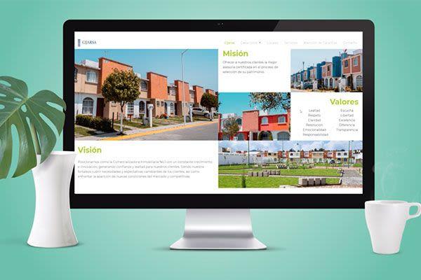 CIJARSA - Diseño de sitio web