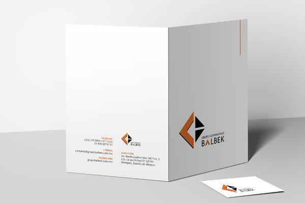 Grupo Balbek - Identidad Corporativa