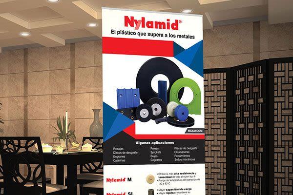 MCAM Advanced Materials - Diseño de Banners y Camioneta