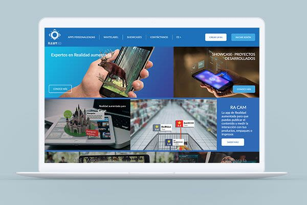Illutio - Diseño Sitio Web y Brochure