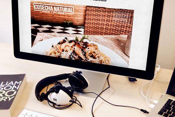 Cosecha Natural - Diseño Web