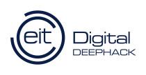 Logo of EIT Digital DeepHack