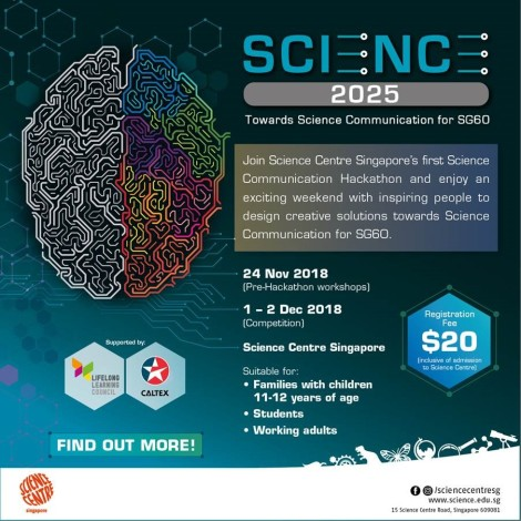 SCIENCE 2025 - Towards Science Communication for SG60