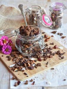 Granola home made al cacao e cocco - @sonietta_gipsysoul