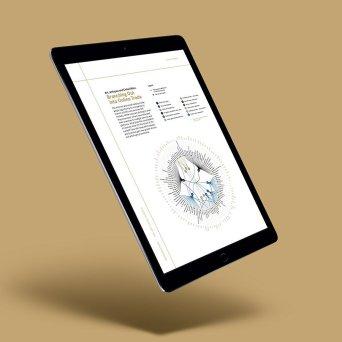 Cover of the online Tefaf Art Market Report
