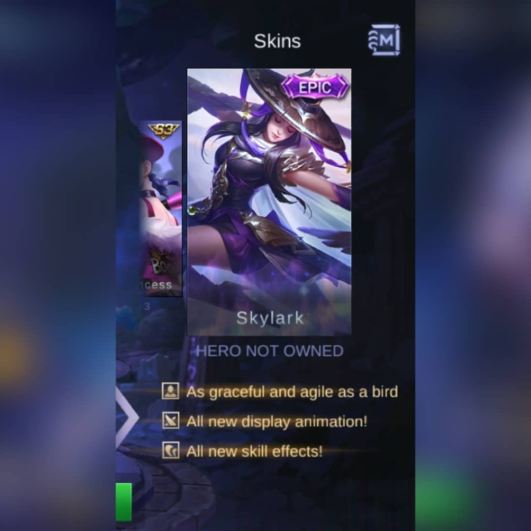 Skin Fanny Skylark