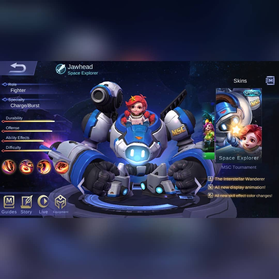 Skin Jawhead Space Explorer