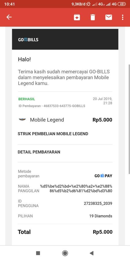 Konfirmasi Email Pembelian