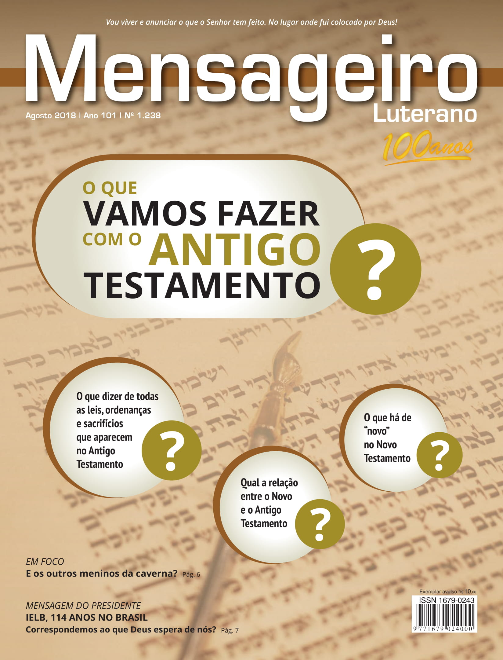 Edição Agosto 2018
