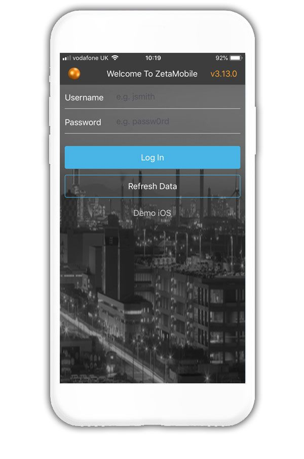 ZetaSafe android app by iEngageIT Belfast NI