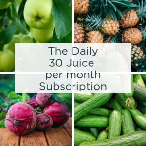 The Daily Month 30 juices - Juice Subscription
