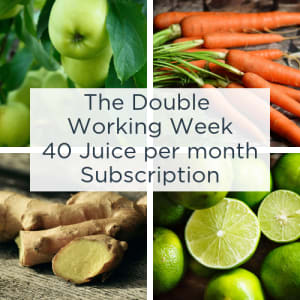 The Double Working Week - 40 Juice Subscription Pack