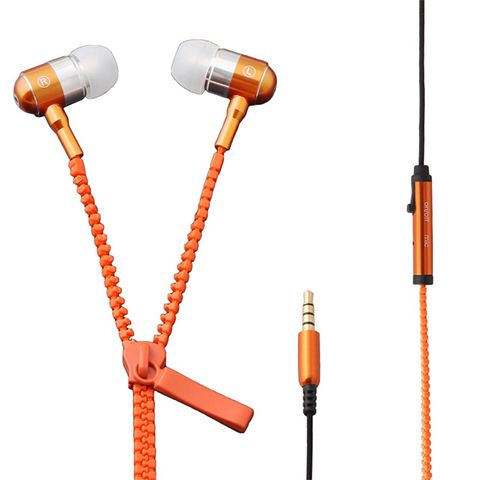 Наушники Zipper Earphones