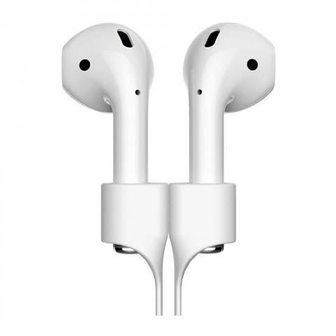 Держатель Baseus Earphone Strap для наушников Apple Airpods серый