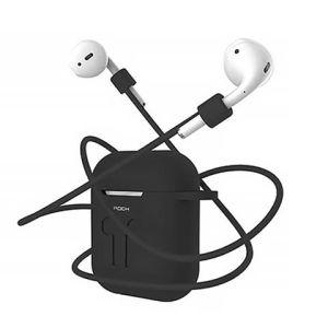 Комплект Rock Carrying Case для наушников Apple Airpods черный