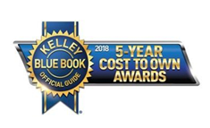 2018 5-Year Cost To Own Award