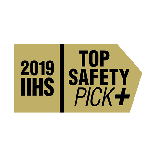 2018/2019 IIHS Top Safety Pick+ Award