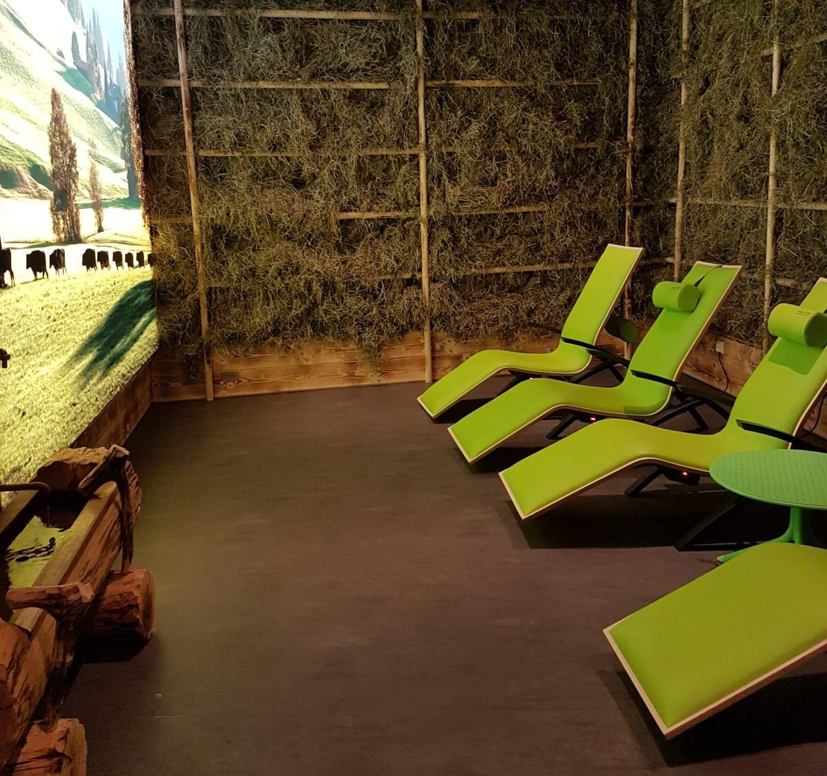 ״סאונת חציר״ במלון ספא ״דאס סיבן״