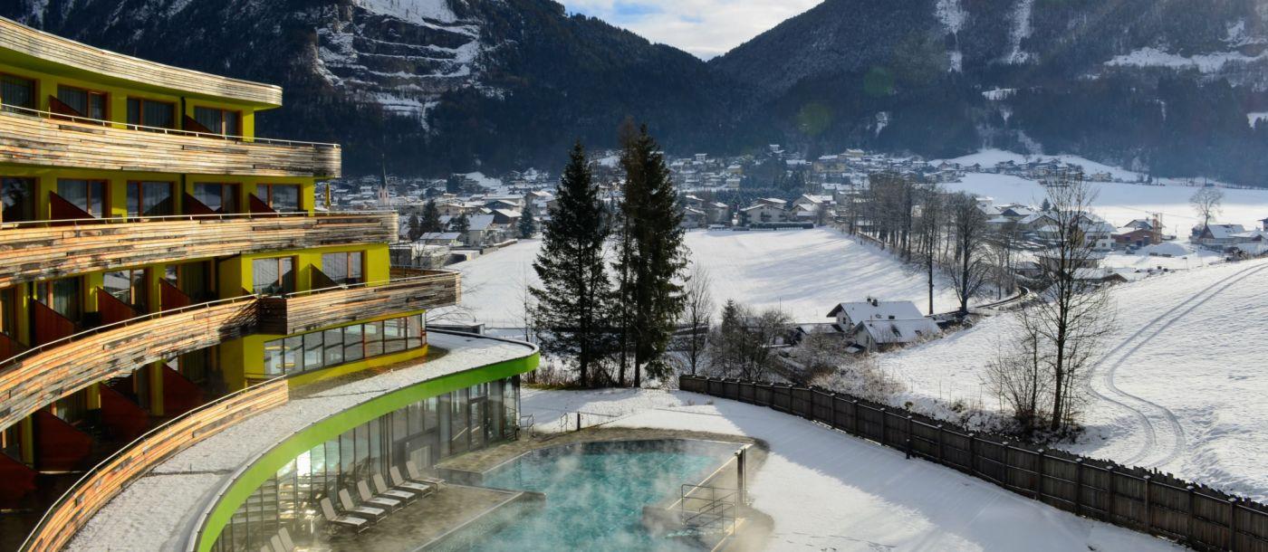 מלון ספא בטירול, אוסטריה