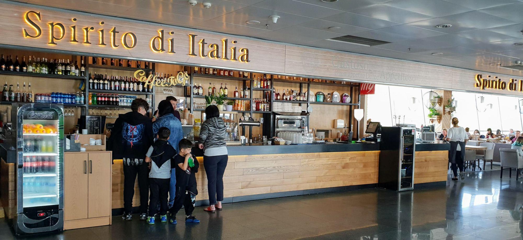 """מסעדת """"Spirito di Italia"""" - מומלצת לארוחה בזמן קונקשן בקייב"""