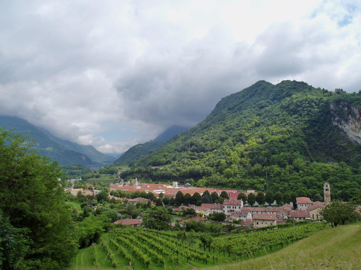 נופים מהעיירה האיטלקית Vittorio Veneto