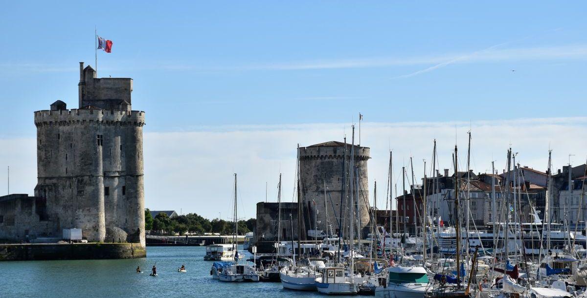 לה רושל, צרפת – עיר על שפת האוקיינוס האטלנטי