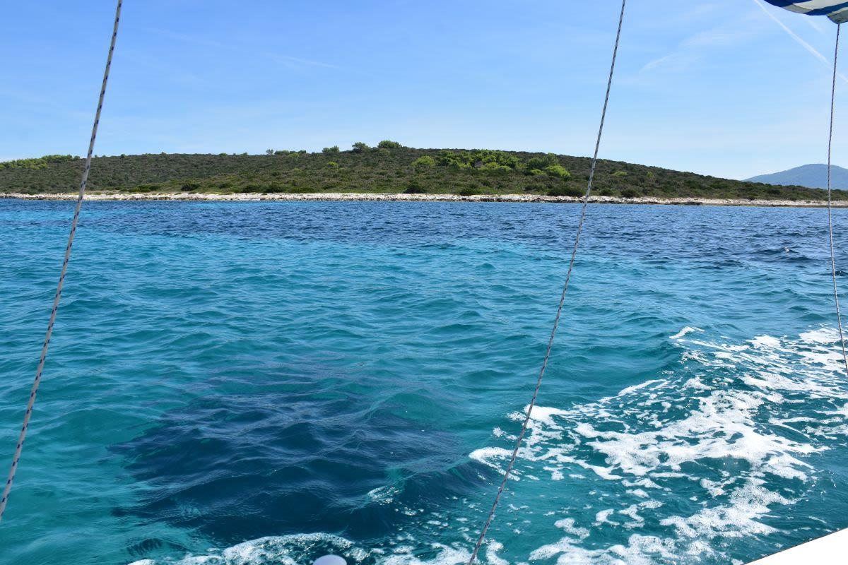 איים בקרואטיה ליד דוברובניק