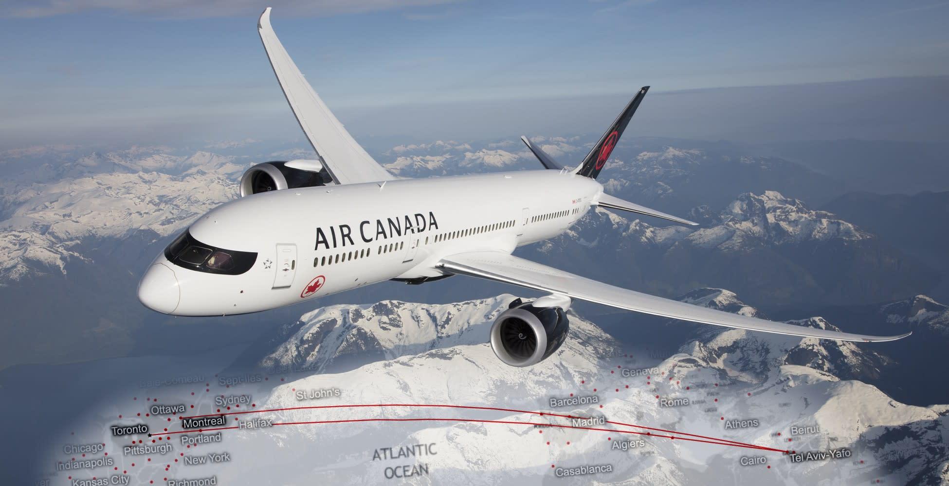 טיסות אייר קנדה - חוות דעת וסקירה
