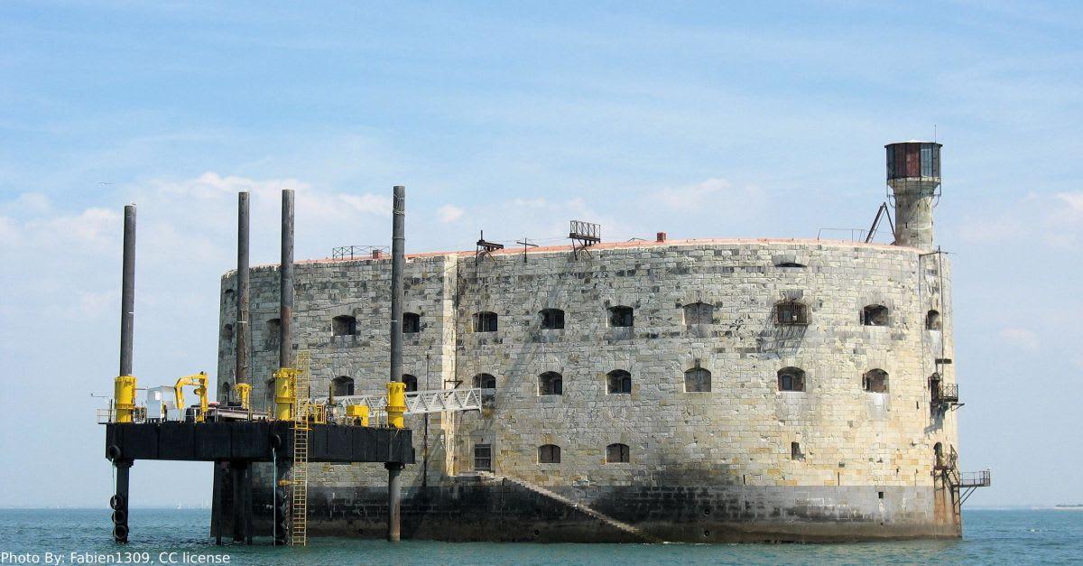 מצודת Fort Boyard של לה רושל (צילום: Fabien1309, לפי רישיון CC)