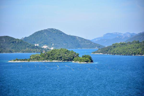 איים באזור דוברובניק