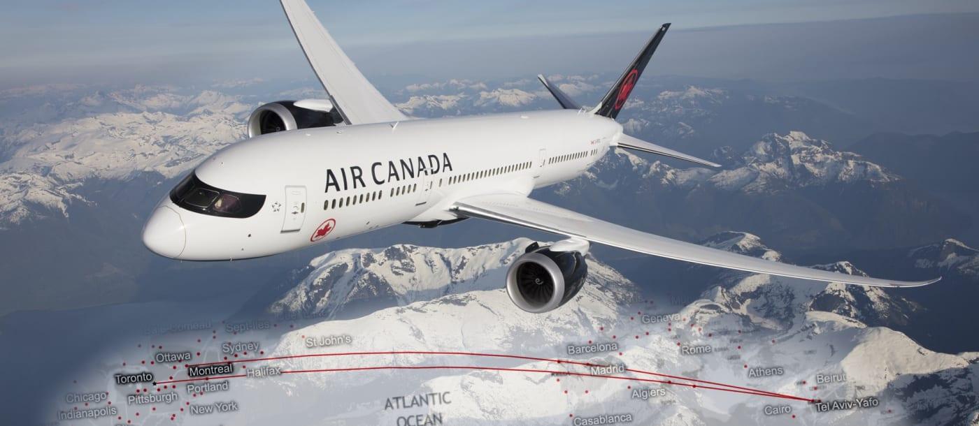 אייר קנדה – חוות דעת וסקירה על חווית הטיסה