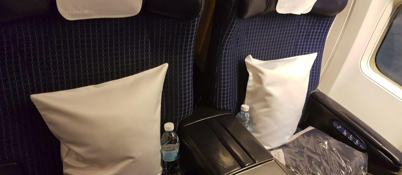 איך לבחור מושב בטיסה?