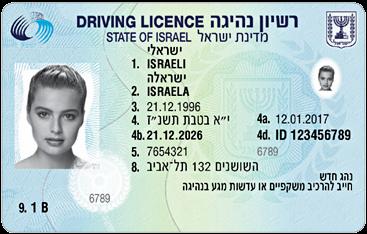 """רישיון נהיגה ישראלי - האם תקף בחו""""ל?"""