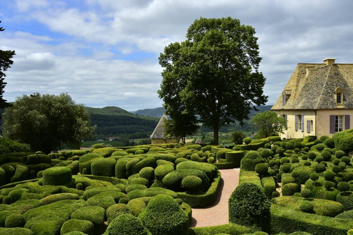 גני מארקיוסאק – The Marqueyssac Gardens (רישיון CC)