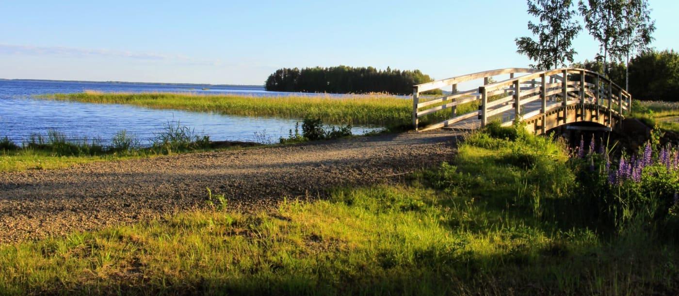 הסאונה הפינית בפינלנד, ארץ האגמים והנהרות