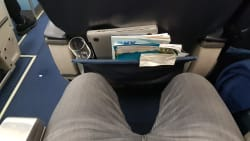מרווח רגלים קטן בביזנס של UIA במטוס בואינג 767 המיושן