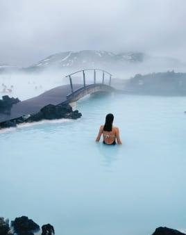 הלגונה הכחולה באיסלנד