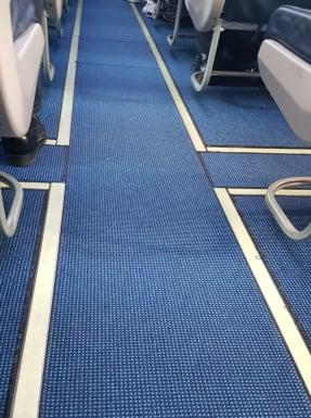 מושבי מעבר במטוס