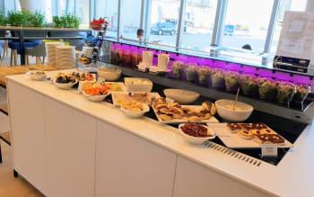 תפריט האוכל בטרקלין לוט בורשה