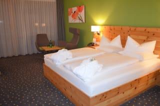 החדרים במלון הספא באוסטריה - ״דאס סיבן״