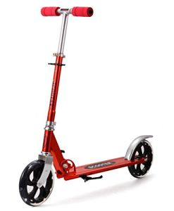 Ancheer-Adult-2-Wheels-Scooter-Adjustable-Durable-Aluminum-Alloy-Scooter-Red-0