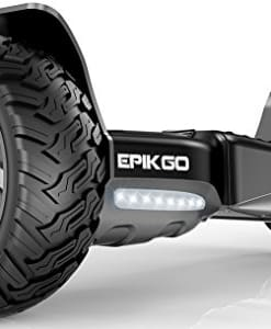 EPIKGO-Self-Balancing-Scooter-Hover-Self-Balance-Board-UL2272-Certified-All-Terrain-85-Alloy-Wheel-400W-Dual-Motor-LG-Battery-Board-Hover-Tough-Road-Condition-Classic-Series-Space-Grey-0