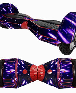 PulisonTM-8-Inch-Self-Balance-Wheel-Hoverboard-Scooter-Skin-Case-Wrap-Cover-For-8-Protect-Your-Scooter-F-0