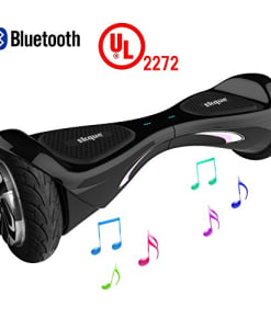 Self-Balancing-Scooter-Skque-8-X1L8-UL2272-Smart-Two-Wheel-Self-Balancing-Electric-Scooter-with-Bluetooth-Speaker-and-LED-Lights-Black-0